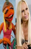 Janice & Donatella Versace