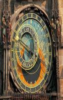 This astronomical clock in Prague has been functioning since 1410