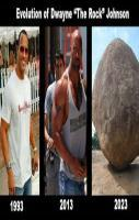 The evolution of Dwayne Johnson...