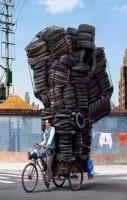 500 Tyres on 3 Wheel Cycle