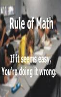 Rules of Math
