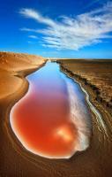 Salt Flats. Namibia