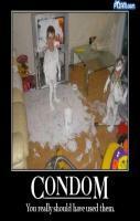 condom blast
