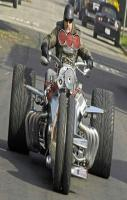 3 Wheel Bike With Amazing Tyres