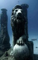 Cleopatra's underwater palace, Alexandria Egypt