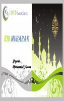 Eid greeting from Muhammad Yaseen