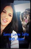 Sunny Leone Selfie With Admin