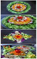 Salad Designing Idea