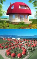 Unique Mushroom Shaped Holiday Homes