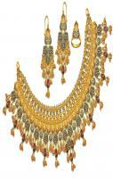 bridal wear jewellery set design
