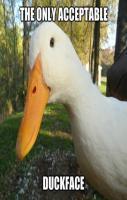 Funny Duckface