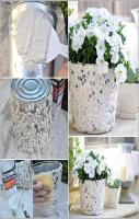 How to Make Pebble Planter DIY