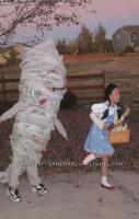 A laughed a little too hard at this. Its a kid dressed up as a tornado