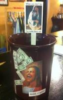 23 Sassy Tip Jars That Will Make You Smile