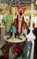 Take notice of the little girl cowering in fear under the table.