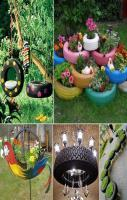 Reuse Old Tires In A Beautiful Way
