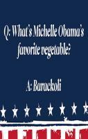 Barackoli Answer by Obama