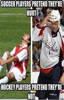 Hockey Vs Soccer Players