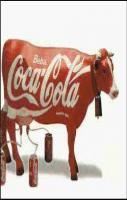 cocacola cow