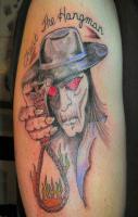 hangman tatoos