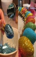 How To Glitterize Light Bulbs! DIY