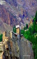 Hunza Fort with the Hight of 500 Meters from ground
