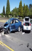 Accident of Two Car Photo