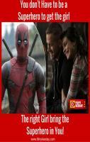 Deadpool SuperHero Funny Dialogue