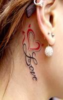 Hd Women Earrings with Tattoos