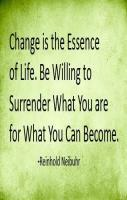 Change is Essence of Life