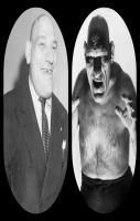 The French Angel Wrestler, Maurice Tillet in Suit