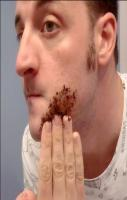 get rid of unwanted hair ANYWHERE! For 1 week, rub 2 tbsp coffee groun