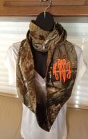 Just in time for hunting season!! Monogrammed Realtree Camouflage Infi