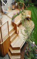 Great Wooden Deck design For Homes