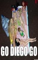 My niece was playing Barbies