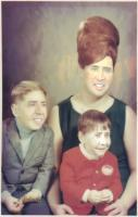 Nicholas Cage Family Portrait, I'm not sure why this exists, but I'm