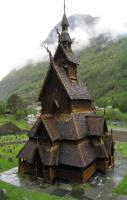The Borgund Stave Church, Norway