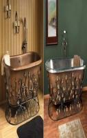 Vintage Copper Bathtub