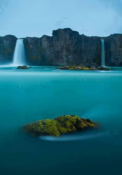 Waterfall of Gods Goðafoss, Iceland... amazing!