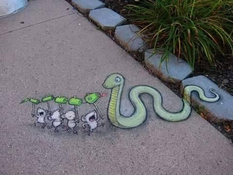 Funny and Beautiful 3D street art