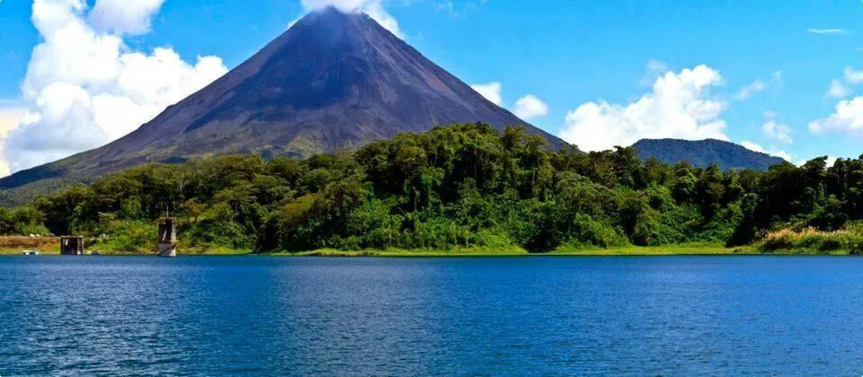 Volcano Mountain in Costa Rica