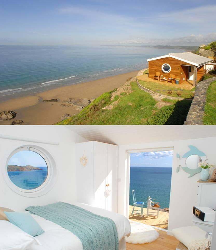 The Edge ,Cliff Top Beach Cottage