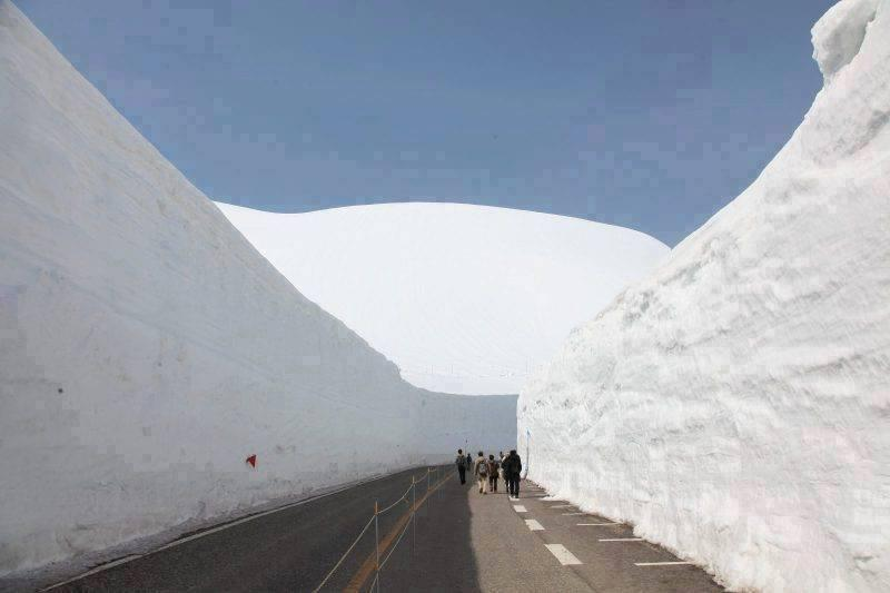 Amazing Photos of Road in Snow