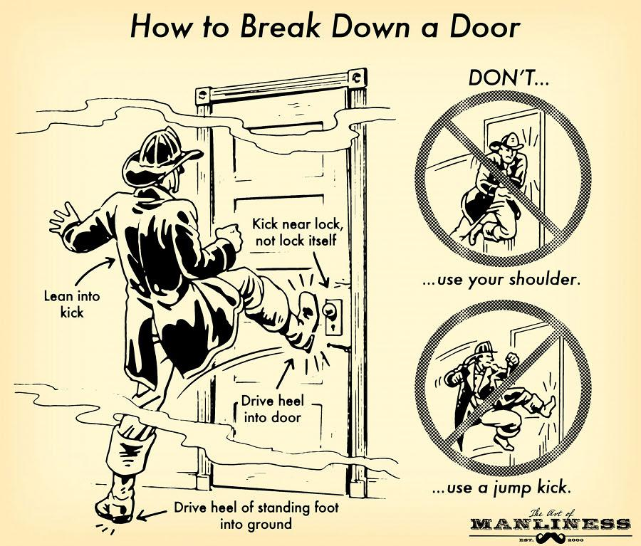 How to Break a door