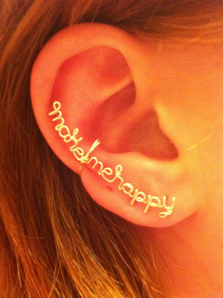 Make Me Happy- Ear cuff