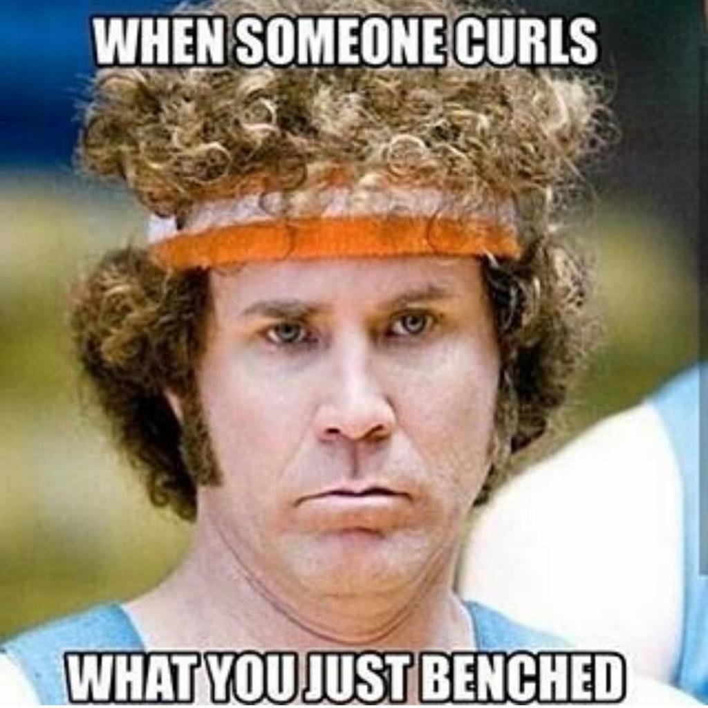 What you just benched
