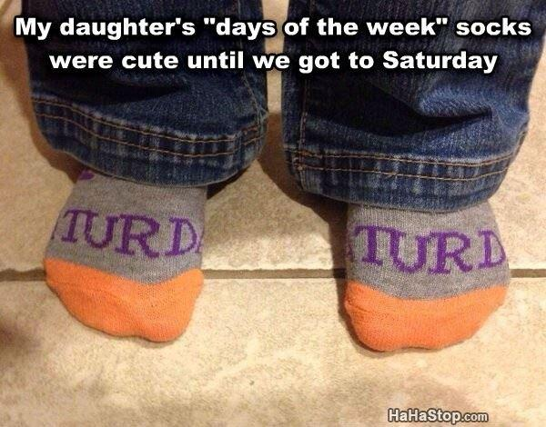Day Of The Week Socks