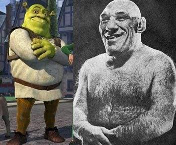 The French Angel Vs The Shrek