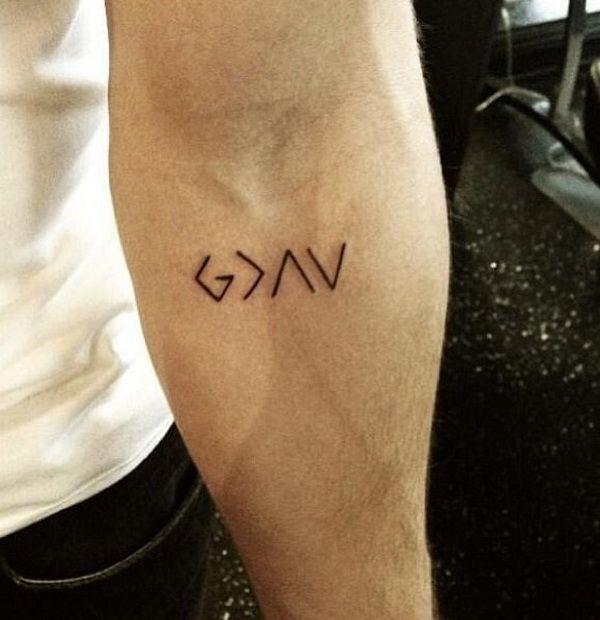 Small Simple Tattoo Designs for Men