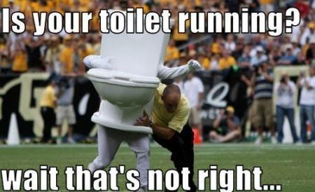 toiletrunning